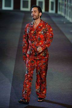 Marc Jacobs struttin' in his Chapman Brothers pajamas