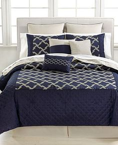 Callait 10 Piece California King Comforter Set Bed In A Bag Bath Macy S
