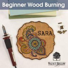 Beginner Wood Burning Project | Walnut Hollow Crafts