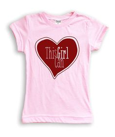 Love this Light Pink 'This Girl Can' Fitted Tee - Toddler & Girls on #zulily! #zulilyfinds