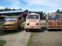 taxis de bambu! :D