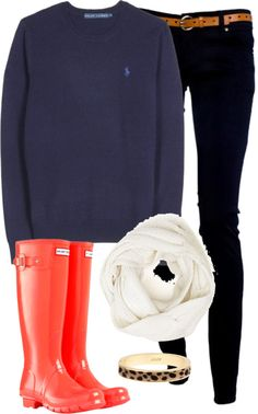 """Polo Sweatshirt (cleaning out some drafts!)"" by classically-preppy ❤ liked on Polyvore"