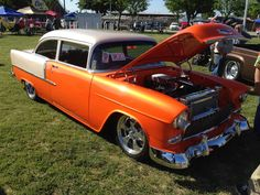 Fred and Terry Ede's '55 Chevy/| Hotrod Hotline