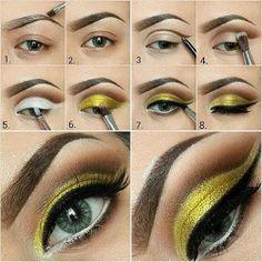 Basic Steps for Eye shadow..