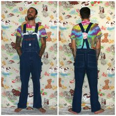 9ef64aaa Denim Overalls. Vintage Mens Or Womens Coverall Jeans. Vintage Pointer  Brand Overalls. Carpenter Farmer Overalls. 32 x 32 Size Overalls
