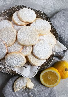 Lemon Meltaways - delicious slice and bake lemon cookies that are a cross between shortbread and sugar cookies. Lemon Meltaways - delicious slice and bake lemon cookies that are a cross between shortbread and sugar cookies. Cookie Desserts, Cookie Bars, Just Desserts, Cookie Recipes, Snack Recipes, Dessert Recipes, Snacks, Lemon Cookies, No Bake Cookies