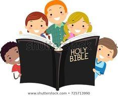 Bible Cartoon, Cartoon Kids, Graduation Wallpaper, Classroom Welcome, Book Clip Art, Open Bible, Bible Illustrations, Self Care Activities, Bible Crafts