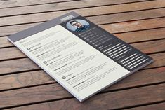 Resume Inspiration - 9 Free Résumé Templates That Will Get You Noticed