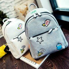 Women Backpack 2017 fashion new PU leather Korean college wind School bag Cartoon spiers line High Quality Travel Books Rucksack  #bag #fashion #backpack #Happy4Sales #YLEY #L09582 #WomenWallets #handbags #kids #bagshop #highschool #shoulderbags  #NewArrivals