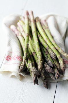 Fresh asparagus / Fanni & Kaneli