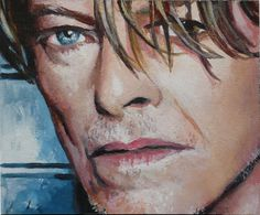 David Bowie ACEO by *sullen-skrewt on deviantART