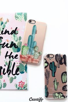 Click through to see more Cactus iPhone 6 phone case designs. Plants it on your case! >>> https://www.casetify.com/collections/iphone-6s-cactus-cases#/?device=iphone-6s | @casetify