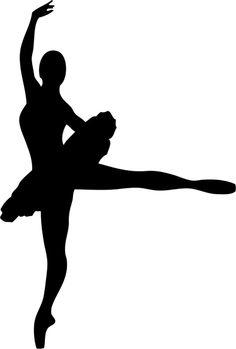 Vinilo decorativo silueta ballet                                                                                                                                                      Más