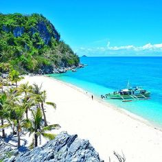 Antonia Beach - Isla Gigantes, Iloilo, Philippines  Photo by @ardeemd --- #Iloilo #Philippines