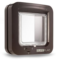 SureFlap Microchip Cat Door Brown * Visit the image link more details.(This is an Amazon affiliate link)