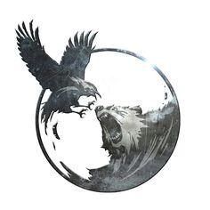 Like the raven
