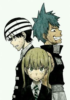 Kid Maka Black Star