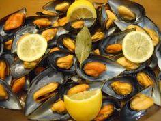 Cómo hacer mejillones al vapor #recetas #pescado #marisco