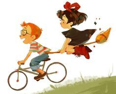 Kiki's Delivery Service Fan art