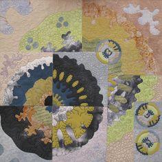 Lichens - Liz Brooke Ward - Stitched Textiles