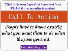 Important information that your FB ad must have.