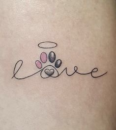 173 Best Paw Print Tattoos Images In 2018 Animal Tattoos Awesome