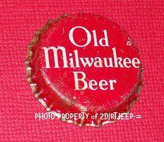 OLD MILWAUKEE BEER CORK UNUSED BEER CAPS BOTTLE CAP '