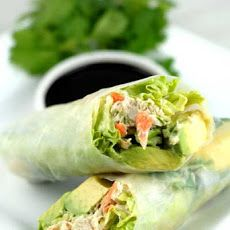 Gluten Free California Rice Paper Rolls Recipe