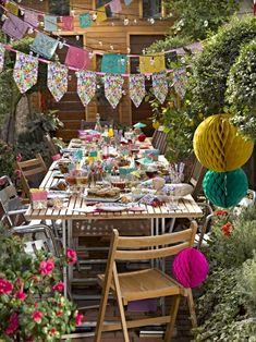 30 Party Deko Ideen im Sommerstil - Den kommenden Sommer mit einer Gartenparty begrüßen