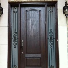 Fiberglass doors offer the perfect balance between durability, security and beauty. Our customers enjoy the warmth and ambience of a traditional wooden door, along with the strength and resilience of fiberglass fabrication.