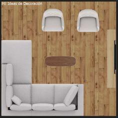 15 formas de distribuir los muebles en un salón cuadrado Muebles Living, Floor Chair, Flooring, Inspiration, Furniture, Home Decor, Ideal House, Houses, Interiors