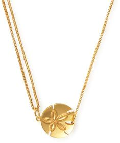 Sand Dollar Pull Chain Necklace