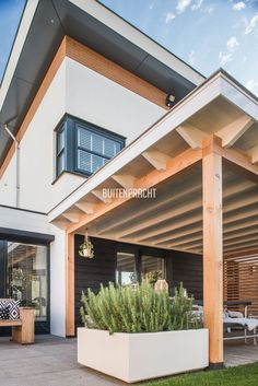 8 # Covered terrace 8 Even though ancient inside thought, your pergola is encountering somewhat Backyard House, Backyard Landscaping, Timber Roof, Outdoor Shelters, Pergola With Roof, Outdoor Living, Outdoor Decor, Back Patio, Exterior Design