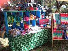 market stall - little woollie