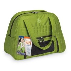$60.60 Product: Gaiam Everything Fits Recycled Gym Bag  As an athlete Im always looking for a gym bag to carry my clothes, shoes and water so how about a recycled one!