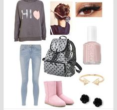 Comfy outfit for school