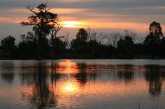 Wimmera River Sunset