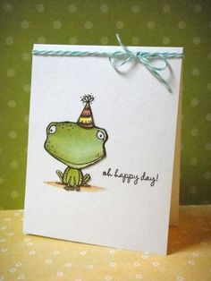 Card by Donna Mikasa using Stacey Yacula stamps for Purple Onion Designs.