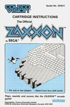 Coleco Vision - Zaxxon | par Joe Kral