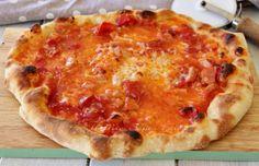 Pizza Napoli fatta in casa 2 g di lievito e maturazione in frigo il mio saper fare
