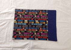 Star Wars themed placemats by pinklilypadbags on Etsy