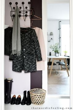 ... Home: Entré on Pinterest  Hallways, Entryway and Ikea shoe cabinet