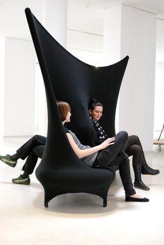 non so scegliere se mi piace più come divisorio d'arredo o divano, Wallfa