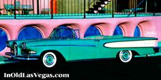 The Glass Pool Motel  with a 1958 Ford Edsel