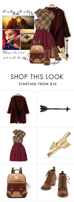 """Merida - Touch the Sky - Disney Pixar's Brave"" by rubytyra ❤ liked on Polyvore featuring Chicnova Fashion, Merida, Carven, Bling Jewelry, women's clothing, women's fashion, women, female, woman and misses"