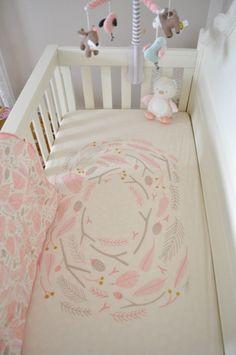 Cute Ideas for a Baby Girl Woodland Nursery - Project Nursery