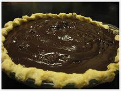My Family's Secret chocolate Pie Recipe...half-pint house....mag