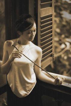 #hangtran #ao #yem #vietnamese #beauty #traditional #dress