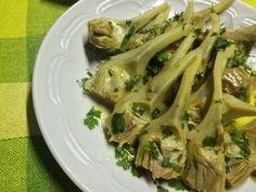 Carciofi in pinzimonio ricetta vegetariana