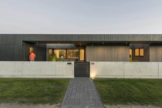 Modern home with Exterior, House, Wood Siding Material, and Flat RoofLine. Photo 5 of BLACK BOX HOUSE